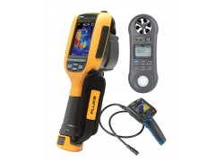 Fluke Ti100 9Hz Thermal Imager Kit - Includes LM-8000 Environmental Meter & BS-150 Borescope for FREE