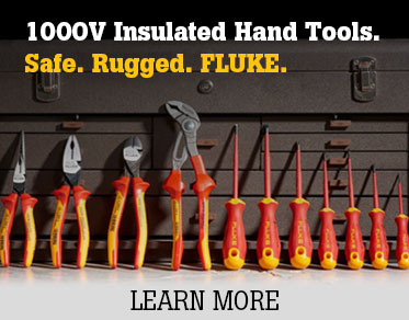 Use the 1000V Rugged Insulated Hand Tools from Fluke