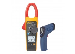 Fluke 376FC-KIT4 TRMS AC/DC Clamp Meter Kit - Includes the R2001 Infrared Thermometer FREE-