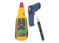 Fluke 771-KIT2 Milliamp Process Clamp Meter Kit - Includes the R2001 Infrared Thermometer & the R5100 AC Voltage Detector FREE-