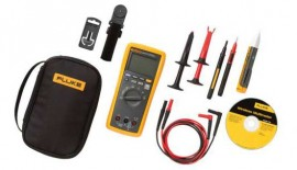 Fluke 3000FC/1AC-II Electrician's DMM Voltage Tester and Accessory Kit-