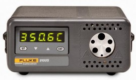 Fluke 9100S-A-156 Dry Block Calibrator with block A-