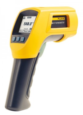Fluke 568 Infrared and Contact Thermometer, -40°C to 800°C-