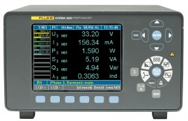 Fluke N4K 1PP42 Norma 4000 Single Phase Power Analyzer with PP42 Power Phase Input Module-