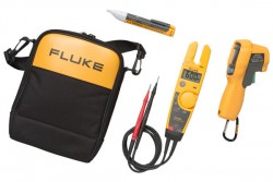 Fluke T6-600/62MAX+/1AC Thermometer, Electrical Tester and Voltage Detector Kit-