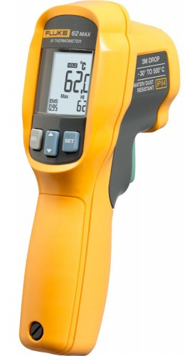 Fluke 62 MAX Infrared Thermometer negative 30° C to 500 degree C-